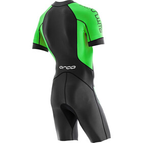 ORCA Core Swimrun-puku Miehet, black/green